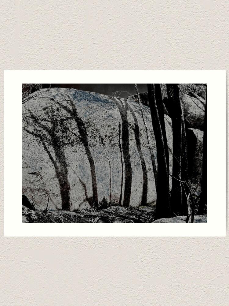 Alternate view of Burnt Shadows Art Print