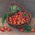 Kirschkorb von Valentina Gatewood