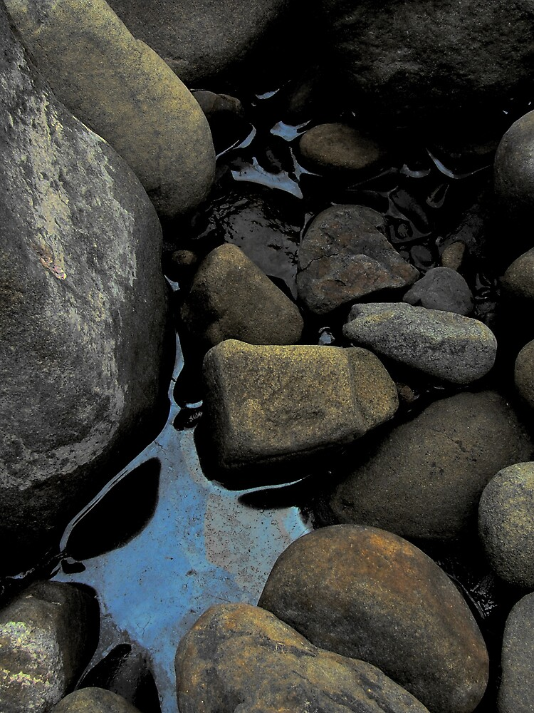 River rocks by OwenK