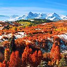 Autumn landscape at Dallas divide by snehit