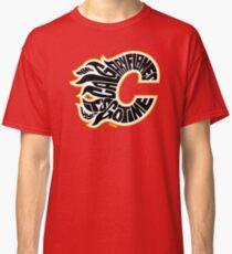 Calgary Flames Black Classic T-Shirt