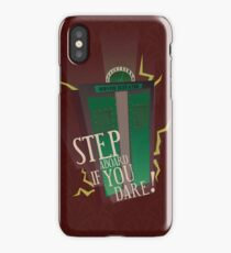 Tower of Terror Final Check-Out iPhone Case/Skin