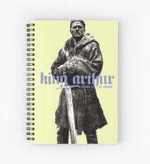 king arthur movie Spiral Notebook