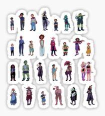 npc's Sticker