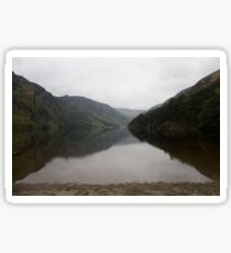 Upper lake, Wicklow mountains Sticker
