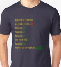5964bb18e2f22 Feeding League of Legends Slim Fit T-Shirt
