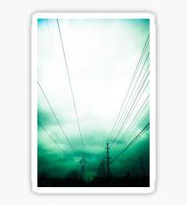 Power Clouds Sticker