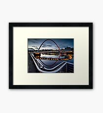 The Gateshead Millenium Bridge Framed Print
