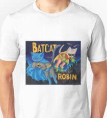 """BatCat"" and ""I ate a Robin"" Unisex T-Shirt"
