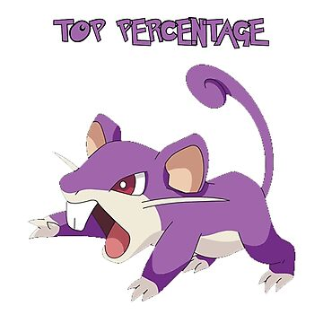 Top Percentage Rattata! by AdilTheDestroye