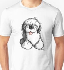 Bobbie Old English Sheepdog Slim Fit T-Shirt