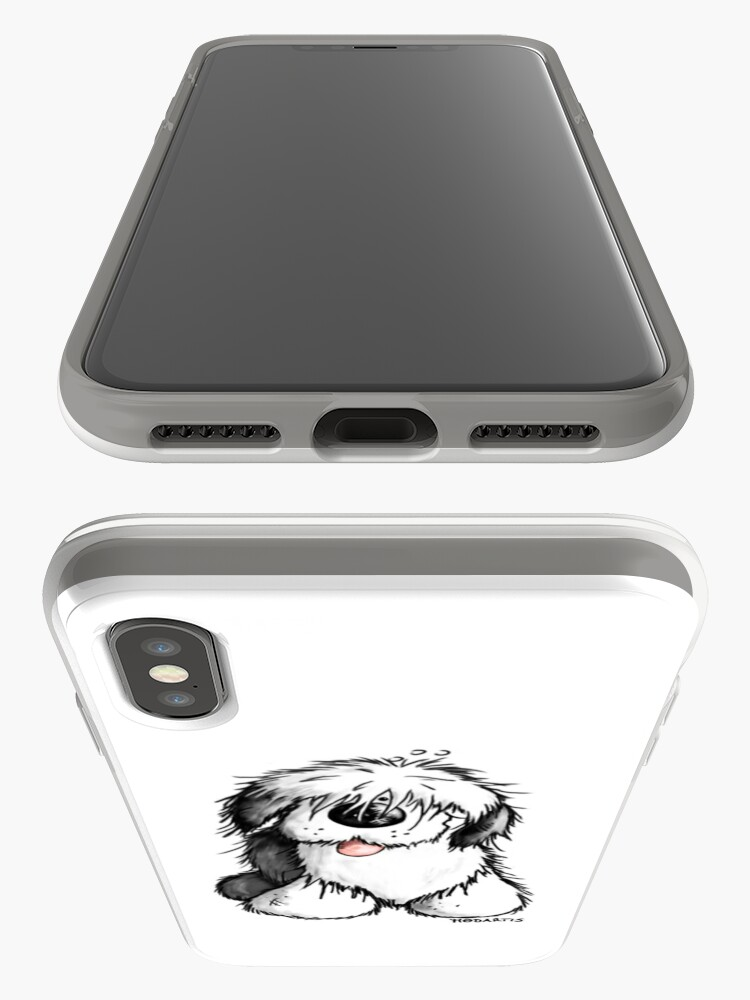 Alternate view of Bobbie Old English Sheepdog iPhone Cases & Covers