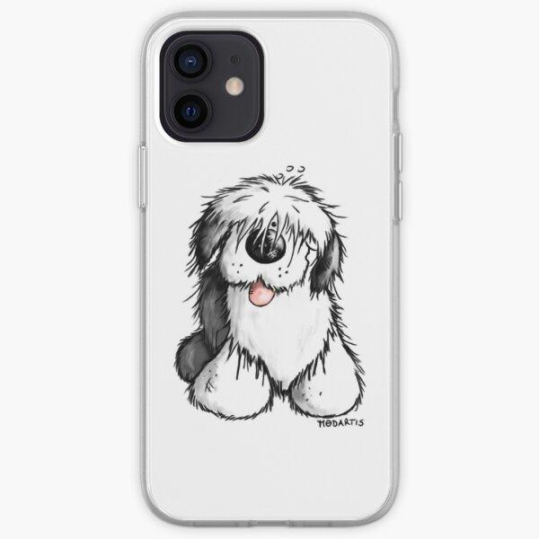 Bobbie Old English Sheepdog iPhone Soft Case