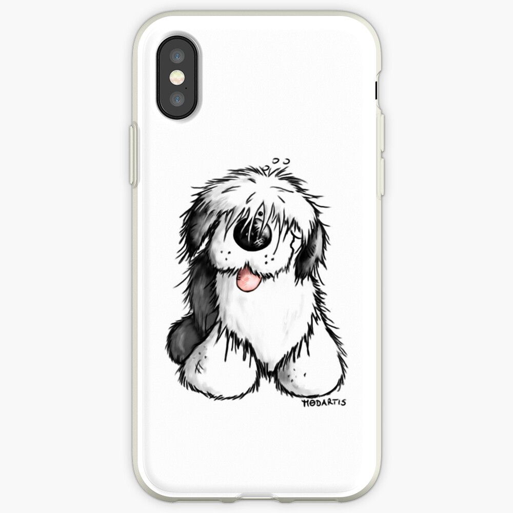 Bobbie Old English Sheepdog iPhone Cases & Covers