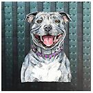 Staffy (Staffordshire Bull Terrier) to Love by didielicious