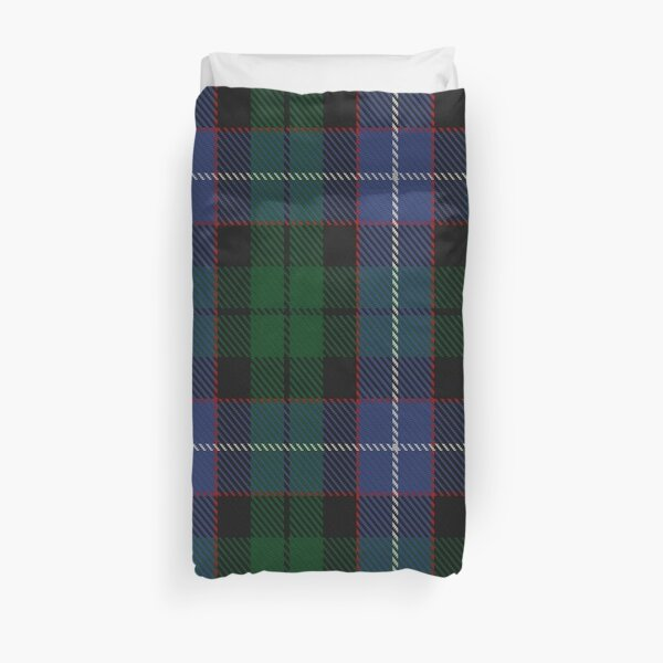Russell or Mitchell or Hunter or Galbraith Clan/Family Tartan  Duvet Cover