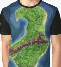 Monkey Island map Graphic T-Shirt