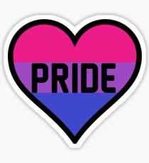 Bi Pride Heart Sticker