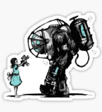 bioshock big daddy  Sticker