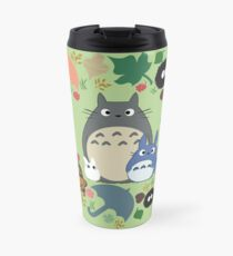 Green Totoro Wreath - My Neighbor Totoro Travel Mug
