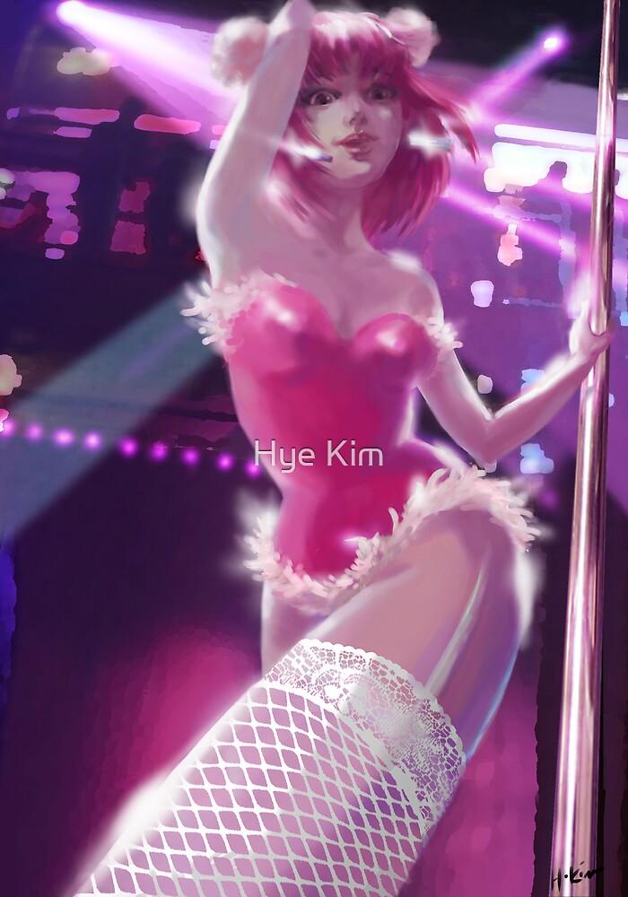 Pink Girl by Hye Kim