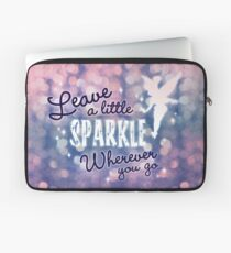Leave a Little Sparkle Wherever You Go Laptop Sleeve