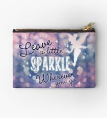 Leave a Little Sparkle Wherever You Go Studio Pouch
