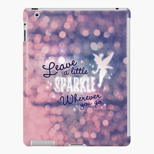 Leave a Little Sparkle Wherever You Go iPad Snap Case
