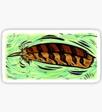 Barred Owl Feather Sticker