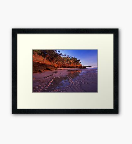 morning kisses - Cape York Framed Print