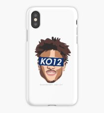 SUP-KELLY OUBRE JR (7) BLUE iPhone Case/Skin