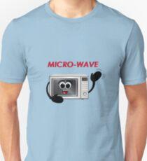 Micro-Wave - Pun Design T-Shirt