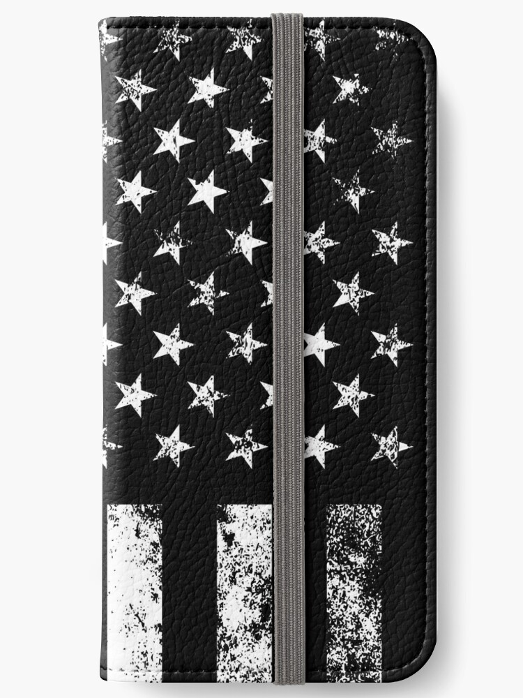 18437bbbed4 Police Styled Distressed Vertical American Flag