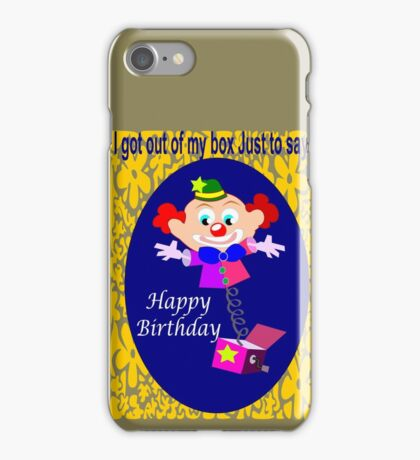 Jack in the box (2618 Views) iPhone Case/Skin