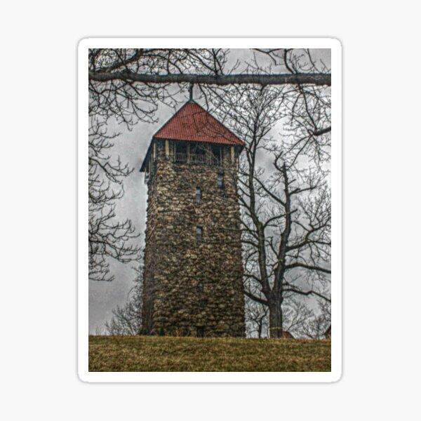 Villa Walsh Tower, Morristown NJ Sticker