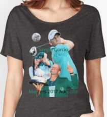 Sergio García wins Masters 2017 Women's Relaxed Fit T-Shirt