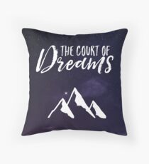 The Court of Dreams - ACOMAF Throw Pillow
