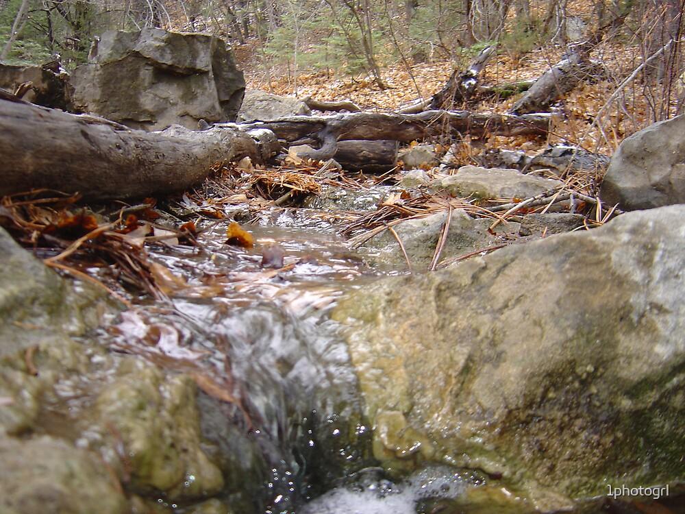 Running water by 1photogrl