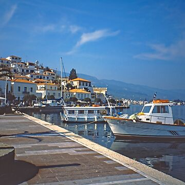 Harbour, Poros by PriscillaTurner