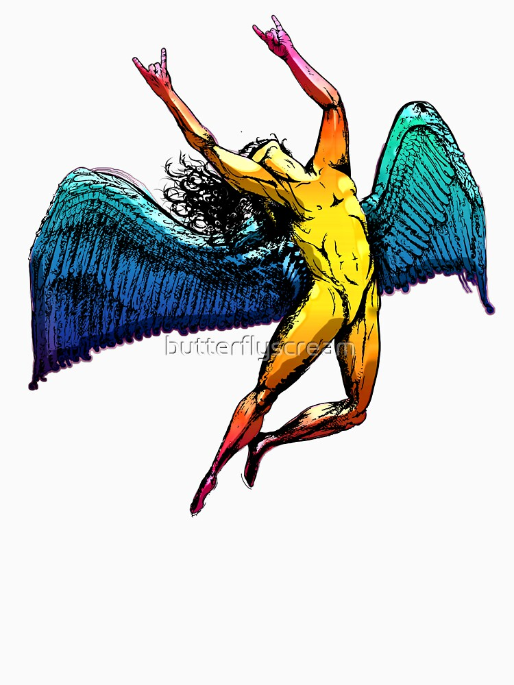 ICARUS THROWS THE HORNS - shiny ***FAV ICARUS GONE? SEE BELOW*** by butterflyscream
