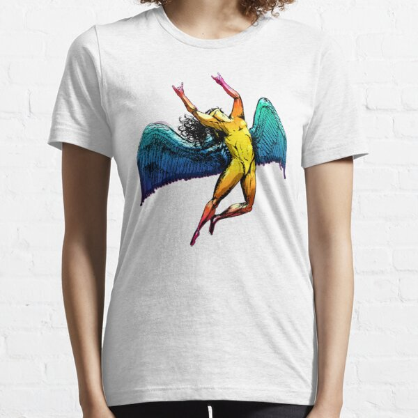 ICARUS THROWS THE HORNS - shiny ***FAV ICARUS GONE? SEE BELOW*** Essential T-Shirt