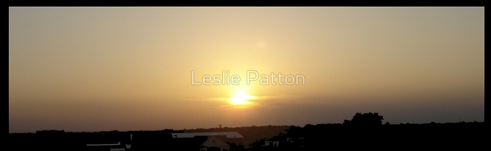 Sunset by Leslie Patton
