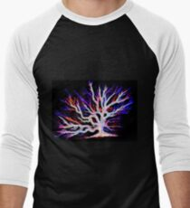 Sea Fan Coral Men's Baseball ¾ T-Shirt