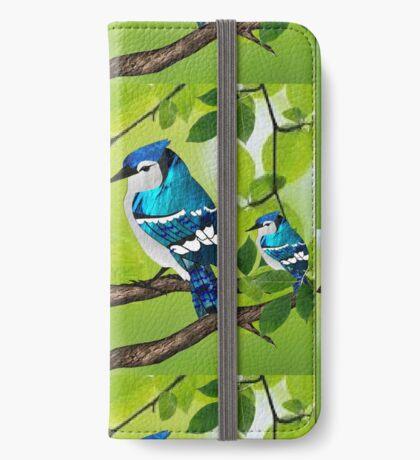 Blue jays (3755 views) iPhone Wallet
