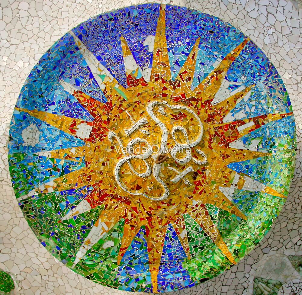 Gaudi's Summer Sun Plaffond by Vanda Oliveira