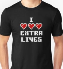 Love Extra Lives - Dark Suitable Unisex T-Shirt