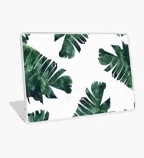 Bananen-Blatt #Watercolor Pattern # redbubble Laptop Skin