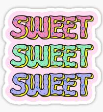 Süße Donuts Pastell Sticker