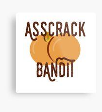Asscrack Bandit - Community Metal Print