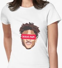 SUP-KELLY OUBRE JR (8) RED Womens Fitted T-Shirt